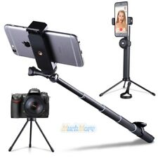 Portable Selfie Stick Bluetooth Monopod+Foldable Tripod Stand for GoPro Phones