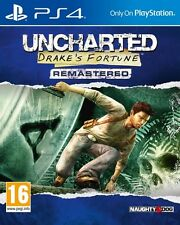 Uncharted Drake's Fortune Remastered PS4 * NEW SEALED PAL *
