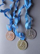 Gold Silber Bronze Sportmedaillen DDR FDJ DTSB Sportfest Spartakiade Wettkampf