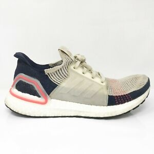 Adidas Mens Ultraboost 19 B37705 Multicolor Running Shoes Lace Up Low Top Sz 9.5