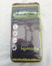 Komodo Tropical Terrain Compact Brick ~ Reptile Substrate ~ 649g