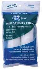 Mini Paint Roller,4 in.,PUR Foam,PK2 PREMIER 53840