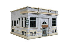 3772 Walthers Cornerstone Liberty Bank & Trust 1920's Brick City Building HO