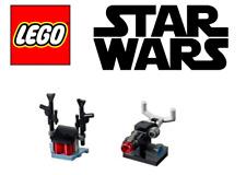 Lego Mini Sets of Star Wars Gun Rack & Stud Shooter