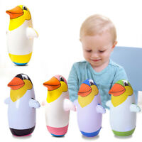 Inflatable PENGUIN Boxing Punch Bop Bags Childrens Kids Outdoor Indoor Game Toy