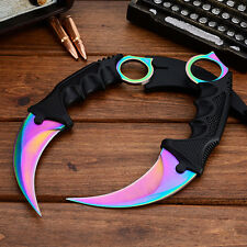 CSGO Knife Fade Karambit Cs Go Knive Tiger Tooth Doppler Counter Strike Sapphire