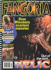 FANGORIA MAGAZINE #160 THE RELIC, MARS ATTACKS, MEN in BLACK, SEXY SIRENS as NEW