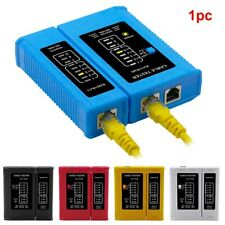 Multifunctional Ethernet LAN wiring problem repair tool, network cable tester