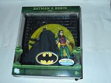"2007 MATTEL DC SUPER HEROES TOYS ""R"" US EXCLUSIVE ""BATMAN & ROBIN"" DIORAMA"