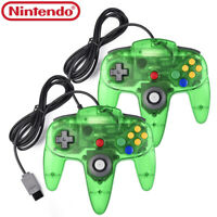 Jungle Green Style Game Controller Gamepad Joystick For Nintendo 64 N64 System