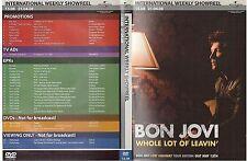 WEEKLY SHOWREEL 15.08 - DVD PROMO - BON JOVI onerepublic PORTISHEAD robyn