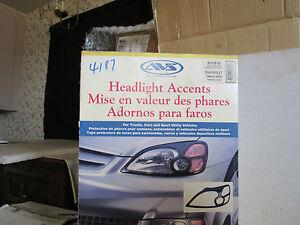 AVS Auto Vent shade 337810 Headlight Accents for 02-04 Chevrolet Trailblazer GM