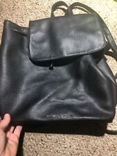 Victoria's Secret SEXY LITTLE THINGS BACKPACK TOTE Black Faux Leather Retail$85