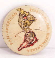 Vintage Pan-American Exposition 1901 Copyright 1899 Pin