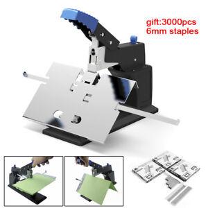 Manual Stapler Desktop Saddle Stitching Machine Flat/ Saddle Stitchers