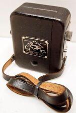 """RARE CAMERA """" EUMIG """" - Modèle """" C 4 """"   -  8 mm - 1937  - AUSTRIA"""