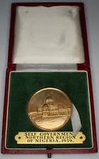 More details for 1959 | self government northern region of nigeria rare medal | medals | km coins