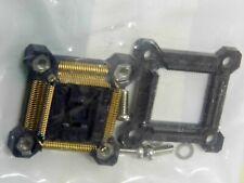 Stecker Experimentier Platine Yamaichi 100 Kontakte CMS, Gehäuse Qfp 0.5mm,