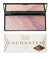 "MUA LUXE MAKEUP SILK EYESHADOW Ombre PALETTE ""ENCHANTED"" Rose Gold, Pink, Mauve"