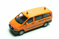 "Herpa 092555  Mercedes-Benz Vito Bus ""Baustellenfahrzeug"" Neu/OVP,1:87"