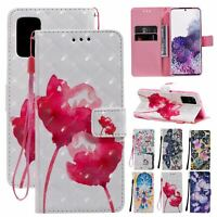 For Samsung Galaxy A51 A71 Magnetic Wallet Strap Stand Flip Leather Case Cover