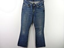 WOMENS G-STAR LOW HIP FLARE JEANS BLUE SIZE W29 L33 GOOD SKU M439