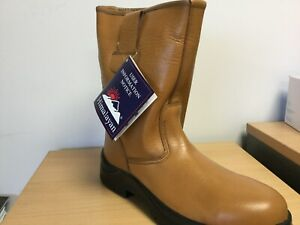HIMALAYAN 9101 S1P TAN STEEL TOE SAFETY RIGGER BOOT SIZE 13