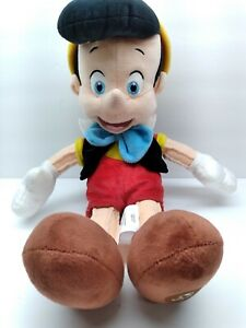 """Disney Store Exclusive Pinocchio 16"""" Plush Stuffed Toy Adult Owned Display"""