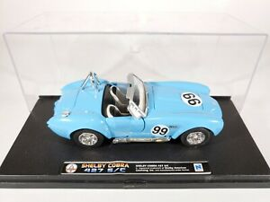 New Ray 1966 Shelby Cobra 427 S/C 1:32 Scale Diecast NEW in Display Case