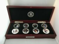 Prince Harry & Meghan Proof Coin Collection Boxed Set of 8 Photo No COA