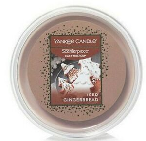 YANKEE CANDLE ICED GINGERBREAD Easy Wax Melt Cups 3 PACK NEW BAKERY SCENT