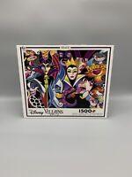 Ceaco Puzzle/Disney Villians/1,500 Pieces/BRAND NEW!