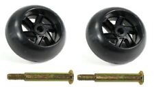 (2) Deck Wheel for John Deere Cub Cadet Ariens Gravely Lawn Tractor Mower + More