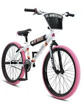 Sold Out - New In Box! 2020 SE Bikes Racing SO CAL Flyer WHITE/PINK 24 PK Ripper