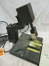Graphic Whizard J-1 Junior Numbering Machine w/ 6 digit head Manual foot pedal