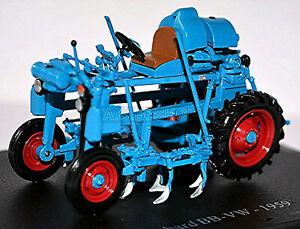 Bobard BB-VW - 1959 Traktor Schlepper blau blue 1:43 Atlas