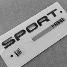 2018 Véritable Noir Range Rover Sport HSE Badge Arrière Insigne de hayon de coffre