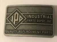 "Vintage Retro Metal Belt Buckle Industrial Parts Depot, Inc. 3.5"""
