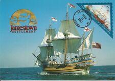 Jamestown Settlement Sailing Ship History FDC USA Maximum Card Scott 4136