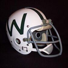 1975 WFL Chicago Winds Suspension Football Helmet