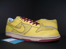 2005 NIKE DUNK LOW 1 PIECE LASER ONE IK TOPAZ TEAM RED GREY BLUE 311611-331 12