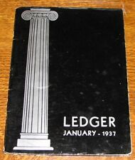 January 1937 Yearbook CLINTON KELLY HIGH SCHOOL Cleveland HS Portland Oregon OR