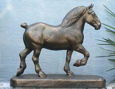 Huge George Ford Morris Percheron Horse Fiberglass Statue