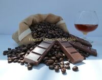 Chocolate Brandy Flavour Coffee Beans 100% Arabica Bean Flavoured Coffee