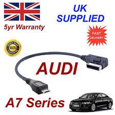 AUDI A7 Câble Audio 4F0051510M MP3 TÉLÉPHONE MICRO USB câble AMI MMI