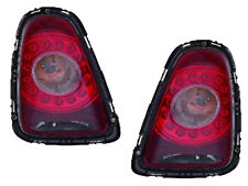 2007-2010 Mini Cooper Hatchback Pair of LED Clear Lens Tail Lights