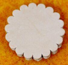 """Slick Fork Saddle Shop Skirting Leather Conchos 1 3/4""""  per 6"""