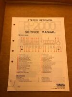 Yamaha R-2000 Receiver Service Manual Original Factory Repair Schematic