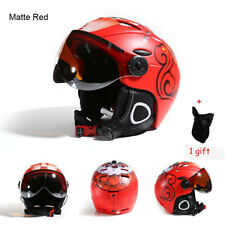 MOON Professional Half-covered CE Certification Integrally-molded Men Ski Helmet