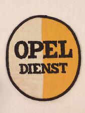 Original écusson Opel service de 1930/40 pour travail veste atelier Blouse